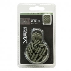 VISM KeyMod 1 Slot Covers- Pack of 18- OD Green VAKM1CG