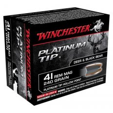 Winchester .41 Remington Magnum 240 Gr. Platinum Tip HP- Box of 20