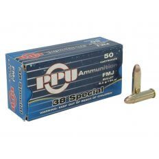 Prvi Partizan .38 Special 130 Gr. Full Metal Jacket- Box of 50