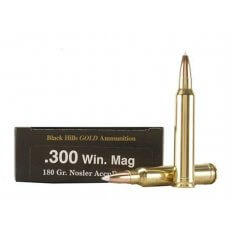 Black Hills Gold .300 Winchester Magnum 180 Gr. Nosler AccuBond- Box of 20