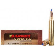 Barnes VOR-TX .300 Winchester Magnum 165 Gr. Tipped TSX Bullet Boat Tail- Lead-Free- Box of 20