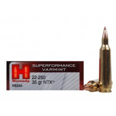 Hornady SUPERFORMANCE Varmint .22-250 Remington 35 Gr. NTX- Lead-Free- Box of 20