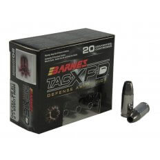 Barnes TAC-XPD 9mm Luger +P 115 Gr. TAC-XP Hollow Point Lead-Free- Box of 20