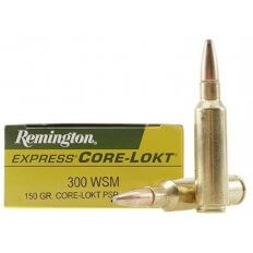 Remington Express .300 Winchester Short Magnum (WSM) 150 Gr. Core-Lokt Pointed Soft Point- Box of 20