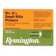 Remington Small Rifle Primers #6-1/2- Box of 1000 (HAZMAT Fee Required)