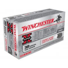 Winchester USA Cowboy .38 Special 158 Gr. Lead Flat Nose- Box of 50