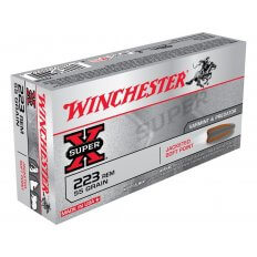 Winchester Super X .223 Rem 55 Gr. Jacketed Soft Point- Box of 20