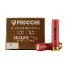 "Fiocchi Field Load 32 Gauge 2-1/2"" 1/2 oz #8 Shot"