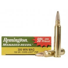 Remington Managed-Recoil .300 Winchester Magnum 150 Gr. Core-Lokt Pointed Soft Point- Box of 20
