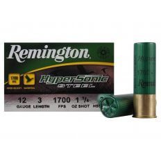 "Remington HyperSonic 12 Gauge 3"" 1-1/4 oz #3 Non-Toxic Shot- Box of 25"