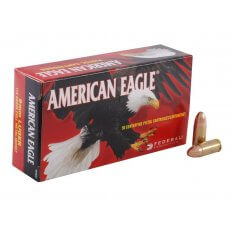 Federal American Eagle 9mm Luger 115 Gr. FMJ- Box of 50