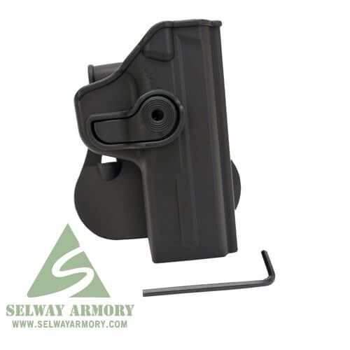 SIG SAUER Walther P99 9mm/ .40 S&W RHS Retention Holster