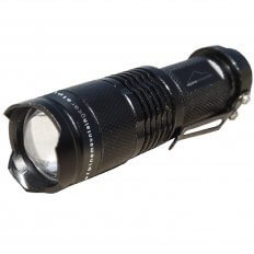 Alpine Mountain Gear 80 Lumen Multi Function Flashlight- Black