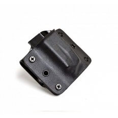 Lag Tactical Universal Single Magazine Carrier- Double Stack .45 ACP / 10mm- Black- 30707