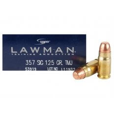 Speer Lawman .357 Sig 125 Gr. Total Metal Jacket- Box of 50