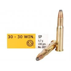 Sellier & Bellot .30-30 Winchester 150 Gr. Soft Point- Box of 20