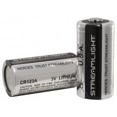 Streamlight Battery CR123A Lithium- Package of 2