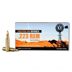 Australian Outback  .223 Remington 55 Gr. Sierra BlitzKing Bullet- Box of 20