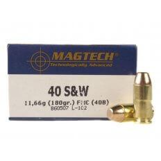 Magtech .40 S&W 180 Gr. Full Metal Jacket- Box of 50