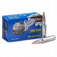 Silver Bear .308 Winchester 145 Gr. FMJ (Bi-Metal)- Box of 20