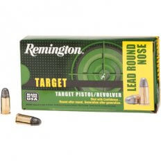 Remington Target .32 S&W 88 Gr. Lead Round Nose- Box of 50
