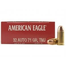 Federal American Eagle .32 ACP 71 Gr. Total Metal Jacket- Box of 50