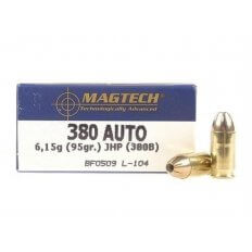Magtech Sport .380 ACP 95 Gr. Jacketed Hollow Point- Box of 50