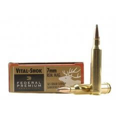Federal Premium Vital-Shok 7mm Remington Magnum 165 Gr. Sierra GameKing Boat Tail- Box of 20