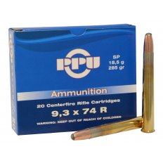 Prvi Partizan 9.3x74mm Rimmed 285 Gr. Soft Point PP9.2