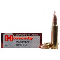 Hornady SUPERFORMANCE .300 Savage 150 Gr. SST- Box of 20