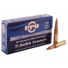 Prvi Partizan 7.5x54mm French MAS 139 Gr. Full Metal Jacket- Box of 20