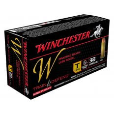 Winchester W Train Reduced Lead .38 Special 130 Gr. Full Metal Jacket- Box of 50
