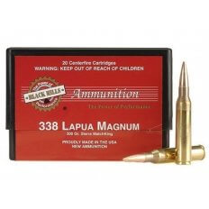 Black Hills .338 Lapua Magnum 300 Gr. Sierra MatchKing Hollow Point Boat Tail- Box of 20
