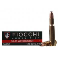 Fiocchi Shooting Dynamics .30-30 Winchester 170 Gr. Pointed Soft Point- Box of 20