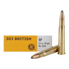 Sellier & Bellot .303 British 150 Gr. Soft Point SB303B