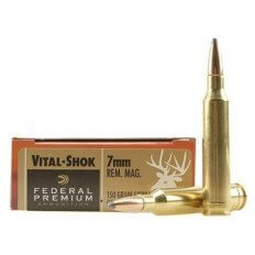 Federal Premium Vital-Shok 7mm Remington Magnum 150 Gr. Sierra GameKing Boat Tail- Box of 20