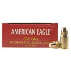 Federal American Eagle .357 Sig 125 Gr. FMJ - Box of 50