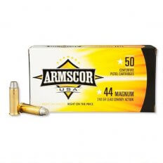 Armscor Cowboy Action .44 Magnum 240 Gr. Lead Semi-Wadcutter FAC44M-1N