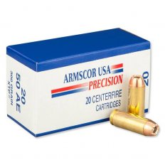 Armscor USA .50 Action Express 300 Gr. Hornady XTP Jacketed Hollow Point 50AE-1N