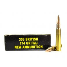 PCI .303 British 174 Gr. Full Metal Jacket
