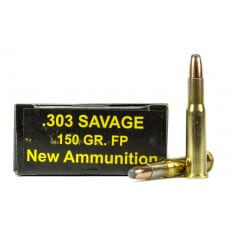 PCI .303 Savage 150 Gr. Flat Nose Soft Point- Box of 20