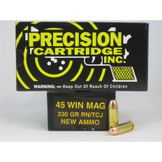 PCI .45 Winchester Magnum 230 Gr. Round Nose TCJ- Box of 50