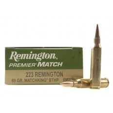 Remington Premier Match .223 Remington 69 Gr. Sierra Matchking Hollow Point RM223R1