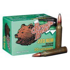 Brown Bear .223 Remington 55 Gr. FMJ (Bi-Metal)- Box of 20