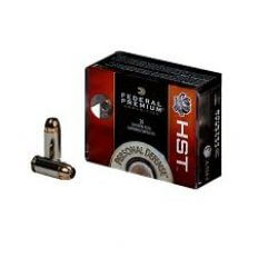 Federal Premium Personal Defense 9mm Luger 124 Gr. HST Jacketed Hollow Point- Box of 20
