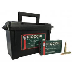 Fiocchi Shooting Dynamics .308 Winchester 150 Gr. Full Metal Jacket- Ammo Can of 180