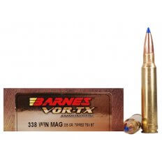 Barnes VOR-TX .338 Winchester Magnum 225 Gr. Tipped TSX Bullet Boat Tail Lead-Free- Box of 20