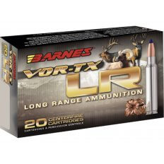 Barnes VOR-TX Long Range 7mm Remington Magnum 139 Gr. Barnes LRX Boat Tail- Lead-Free- Box of 20