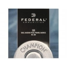 Federal Small Pistol Magnum Primers #200- Box of 1000 (HAZMAT Fee Required)