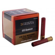 "Federal Premium Personal Defense Ammunition .410 Bore 3"" 000 Buckshot 5 Pellets- Box of 20"